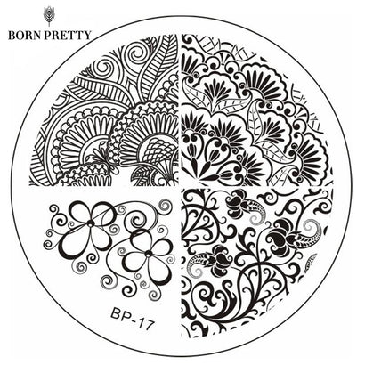 Born Pretty BP 17 Stamping Plate