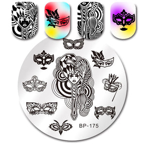 Born Pretty BP 175 Stamping Plate