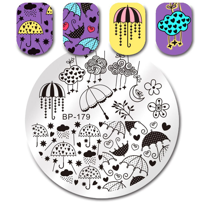 Born Pretty BP 179 Stamping Plate