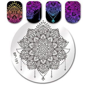Born Pretty BP 181 Stamping Plate
