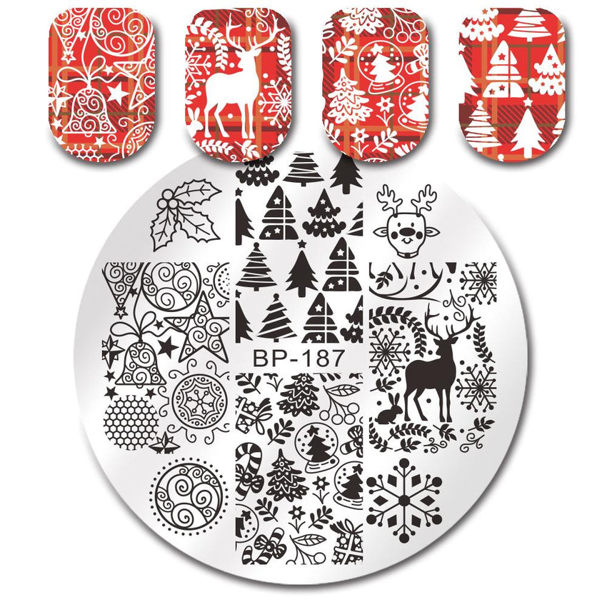 Born Pretty BP 187 Stamping Plate