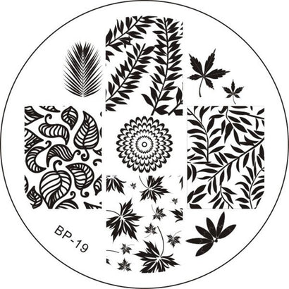 Born Pretty BP 19 Stamping Plate