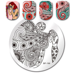 Born Pretty BP 196 Stamping Plate
