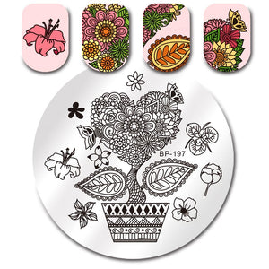 Born Pretty BP 197 Stamping Plate