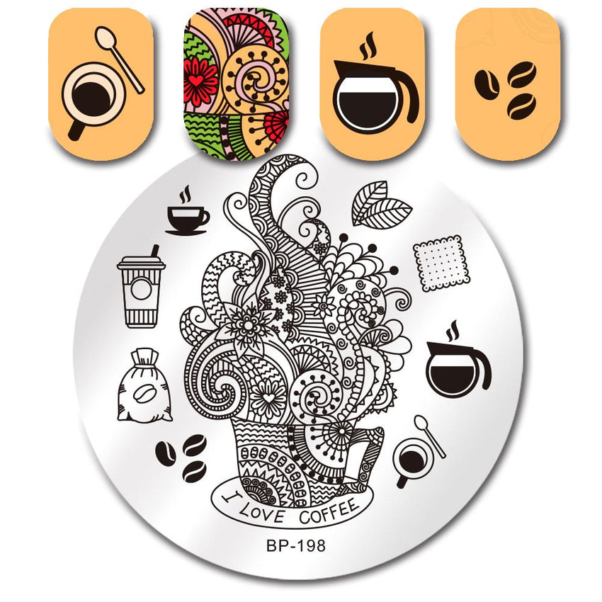 Born Pretty BP 198 Stamping Plate