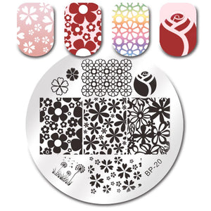 Born Pretty BP 20 Stamping Plate