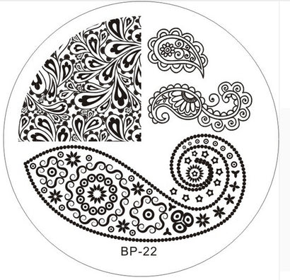 Born Pretty BP 22 Stamping Plate