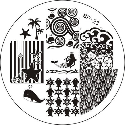 Born Pretty BP 23 Stamping Plate