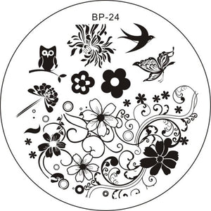 Born Pretty BP 24 Stamping Plate