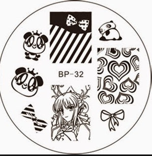 Born Pretty BP 32 Stamping Plate