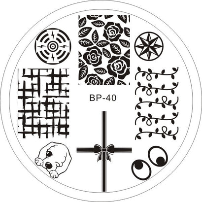 Born Pretty BP 40 Stamping Plate