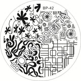 Born Pretty BP 42 Stamping Plate