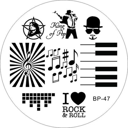 Born Pretty BP 47 Stamping Plate