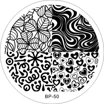 Born Pretty BP 50 Stamping Plate
