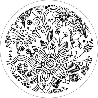 Born Pretty BP 52 Stamping Plate