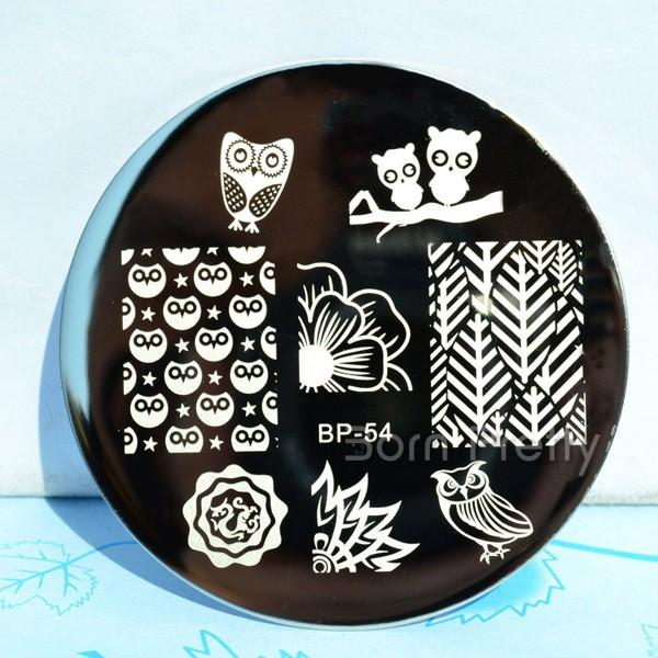 Born Pretty BP 54 Stamping Plate