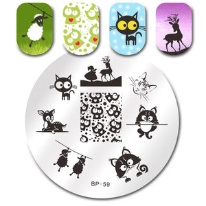 Born Pretty BP 59 Stamping Plate