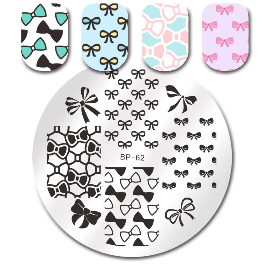 Born Pretty BP 62 Stamping Plate