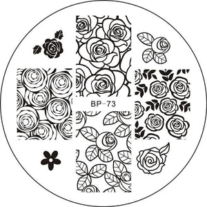 Born Pretty BP 73 Stamping Plate