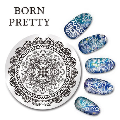 Born Pretty BP 92 Stamping Plate