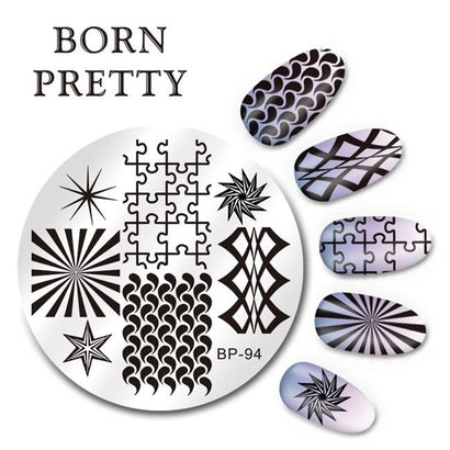 Born Pretty BP 94 Stamping Plate