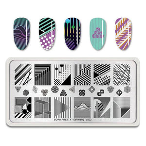Born Pretty BP-L002 Geometry Stamping Plate