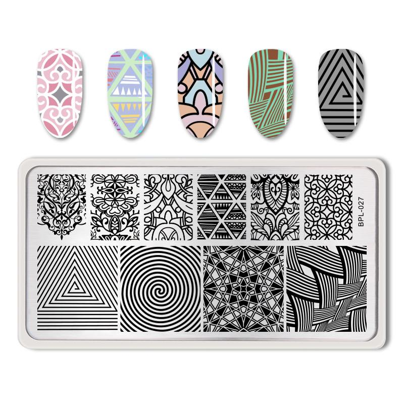 Born Pretty BP-L027 Stamping Plate