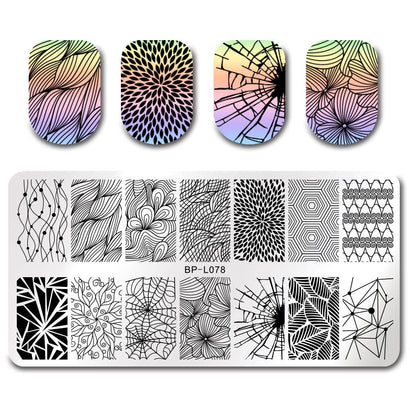Born Pretty BP-L078 Stamping Plate