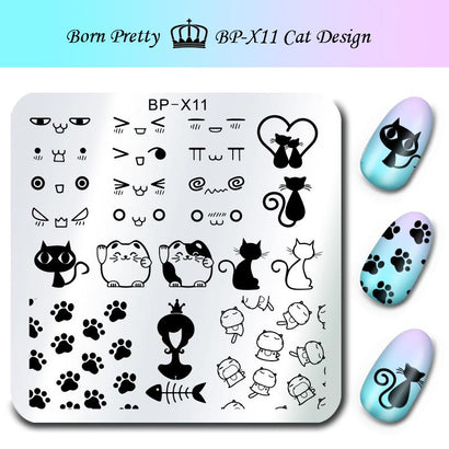 Born Pretty BP X11 Stamping Plate