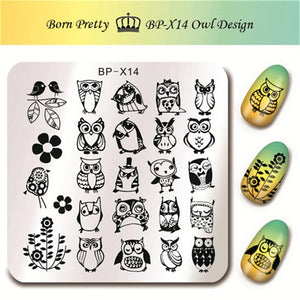 Born Pretty BP X14 Stamping Plate