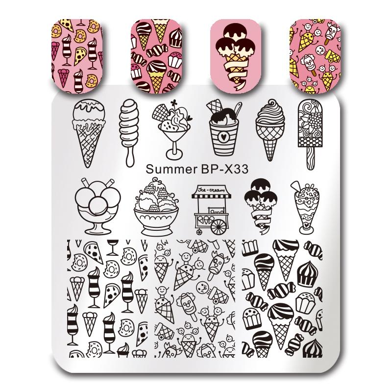 Born Pretty BP X33 Stamping Plate
