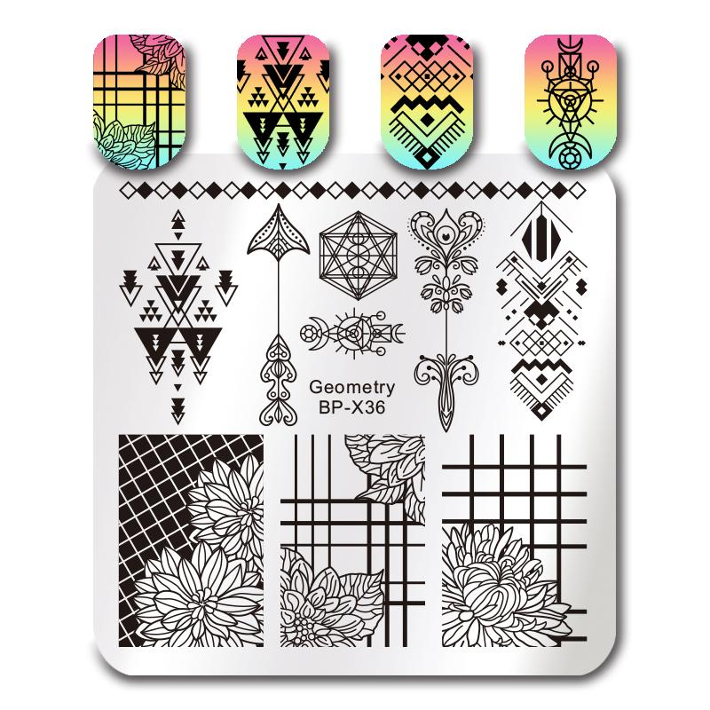 Born Pretty BP X36 Stamping Plate
