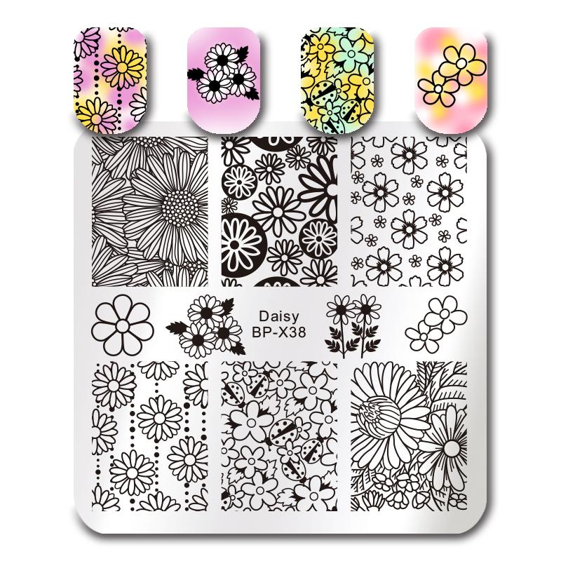 Born Pretty BP X38 Stamping Plate