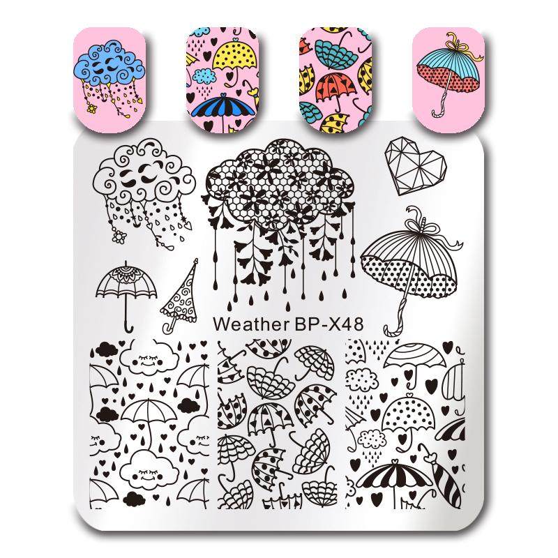 Born Pretty BP-X48 Stamping Plate