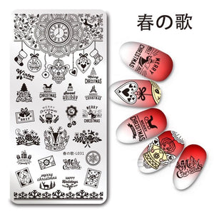 Harunouta L031 Stamping Plate