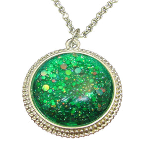 Jewelry/Necklace - Emerald Indie Polish Necklace