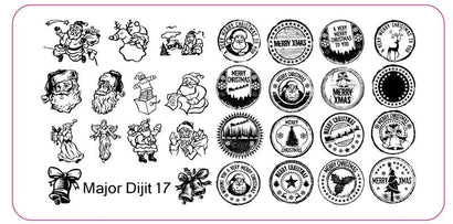 Major Dijit 17 Stamping Plate
