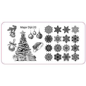 Major Dijit 20 Stamping Plate