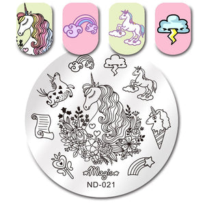 Nicole Diary ND-021 Stamping Plate
