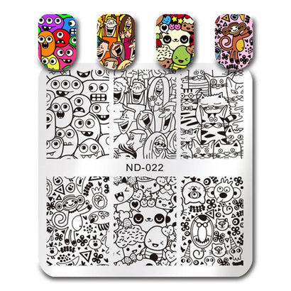 Nicole Diary ND 022 Stamping Plate