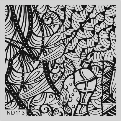 Nicole Diary ND 113 Stamping Plate
