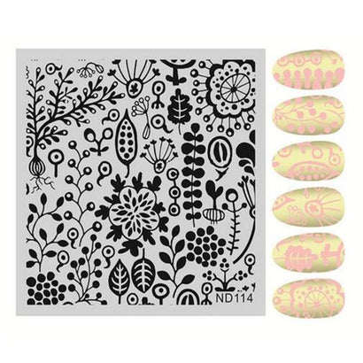 Nicole Diary ND 114 Stamping Plate
