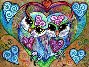 Owl Always Love You Diamond Painting Kit
