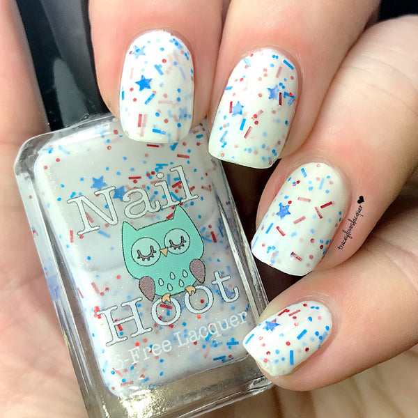 Stars And Stripes Forever July 4th Indie Polish