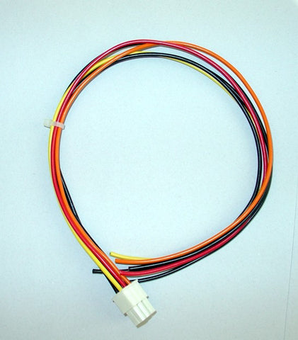 "DC-023 OUTPUT CABLE, 5V, 12V, 3.3V, 6P, 16"" 19-00031-16"