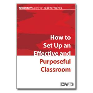 DVD: How to Set-Up an Effective/Purposeful Classroom