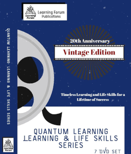 Set of 7 Learning & Life Skills DVDs - 20th Anniversary Vintage Edition