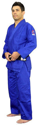 Fuji Sports Double Weave Judo Gi Blue FDB