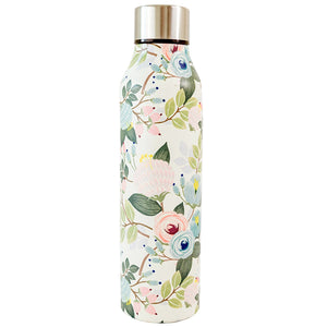 Stainless Bottle Peach Floral 17 oz.