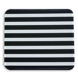 Mouse Pad Black Stripes